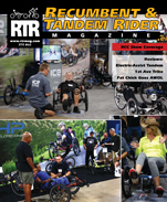 Recumbent and tandem rider magazine STEPS review